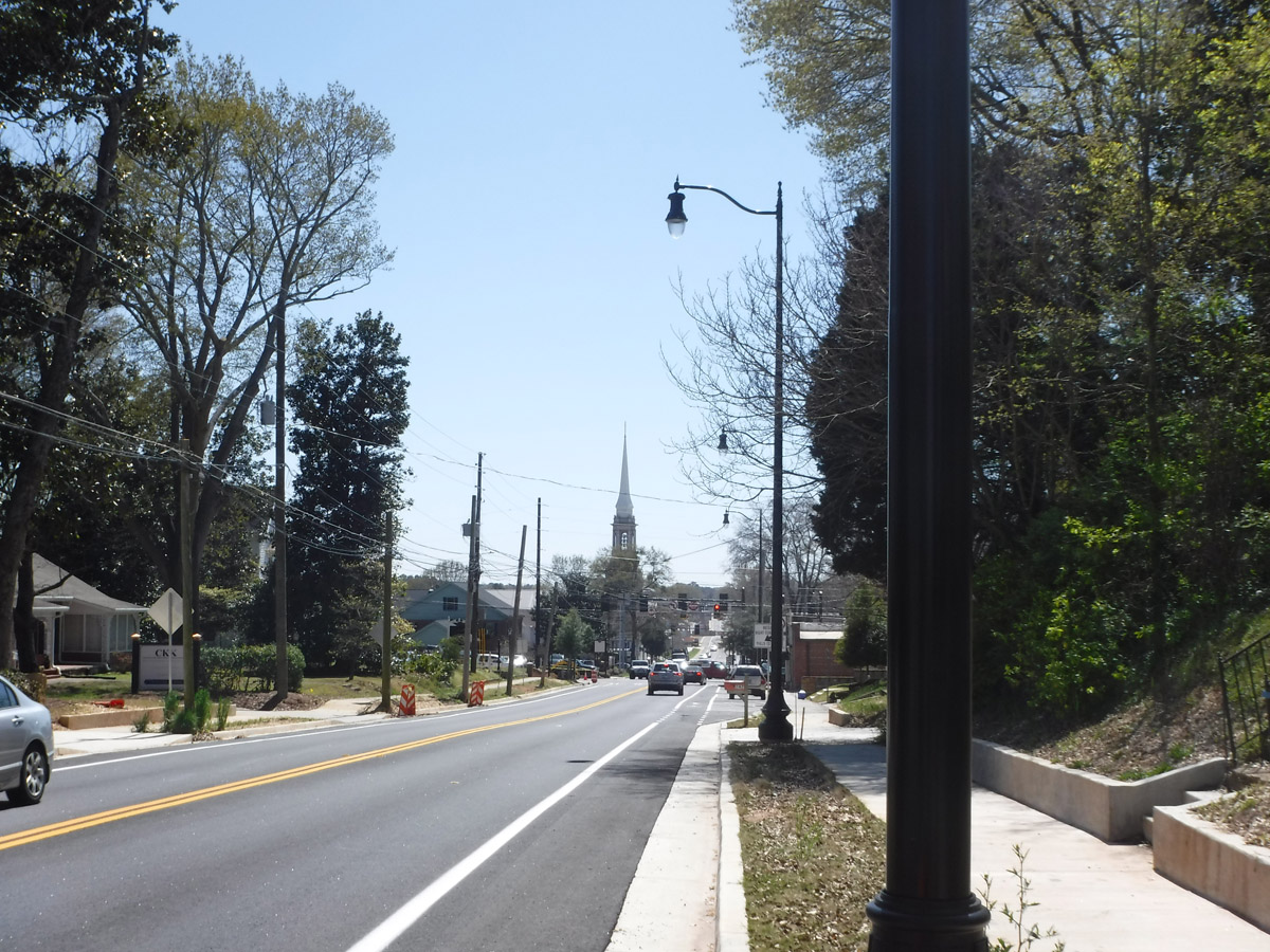 NCES_Lawrenceville College Corridor